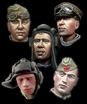 Cabezas Rusas 1  (Vista 1)
