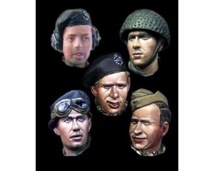 Cabezas Britanicas Set 1  (Vista 1)