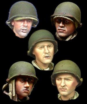 WW2 US Infantry Head Set  (Vista 1)