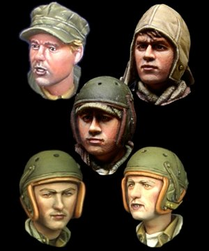 WW2 US Tanker Head Set  (Vista 1)