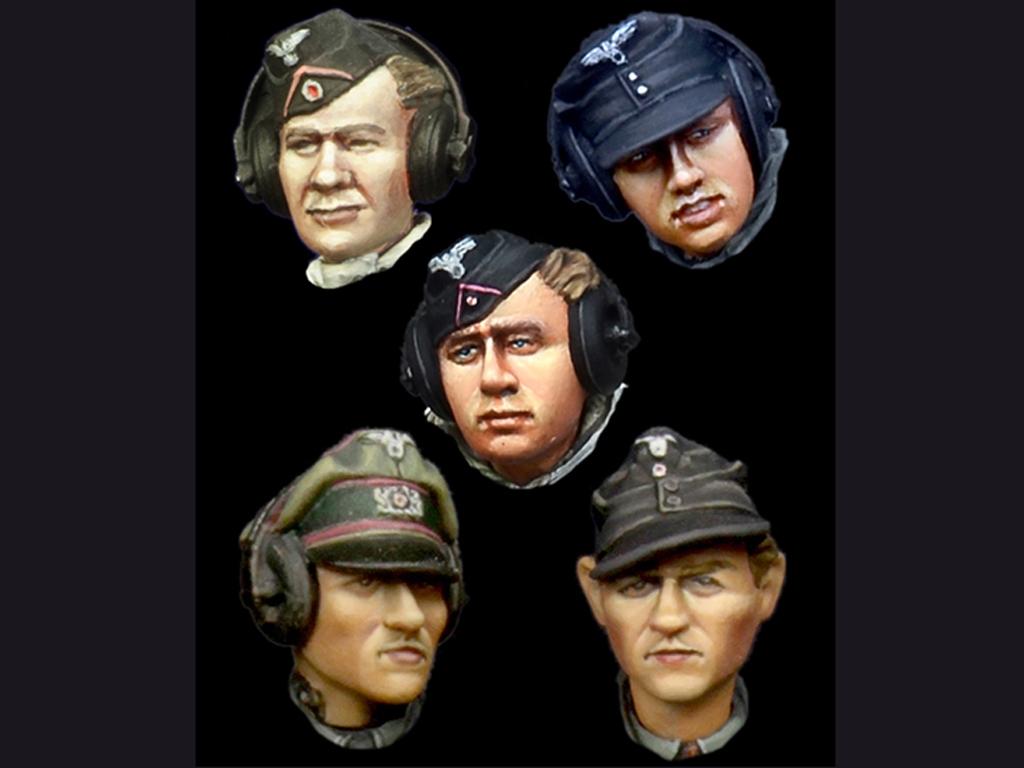 German Panzer Crew Head Set #1  (Vista 1)