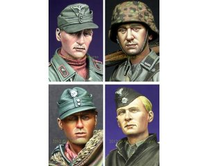 German Heads Set #1  (Vista 1)