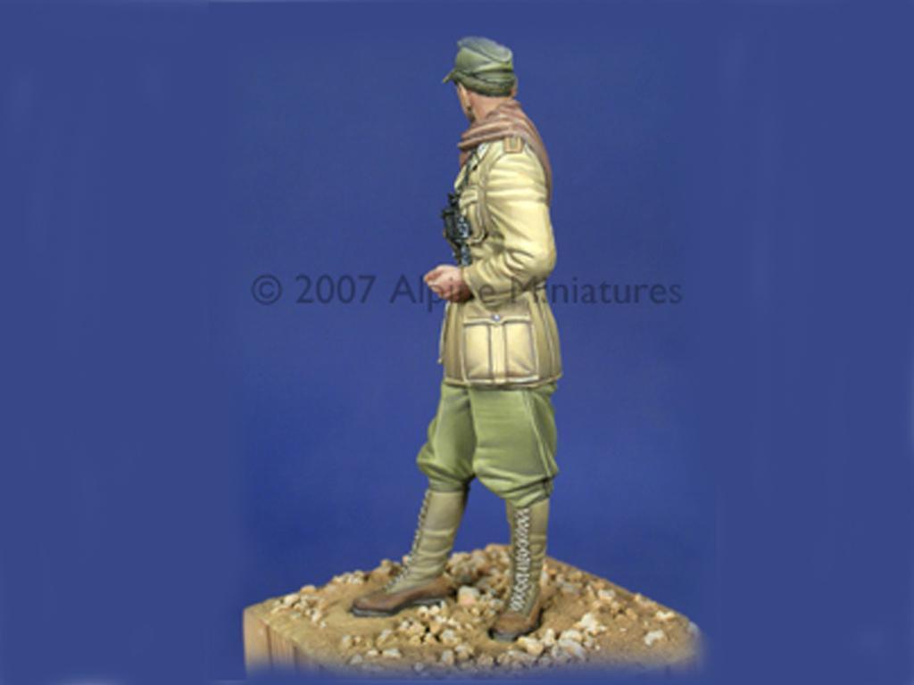 Oficial Carro Afrika Korps (Vista 2)