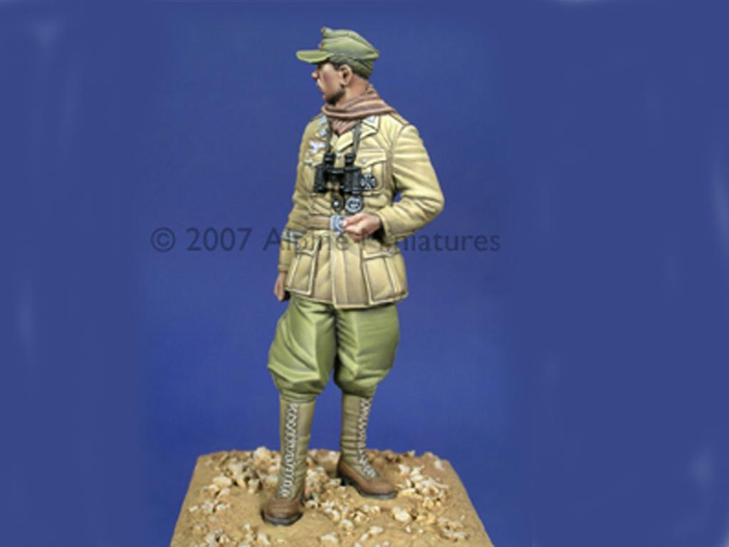 Oficial Carro Afrika Korps (Vista 4)