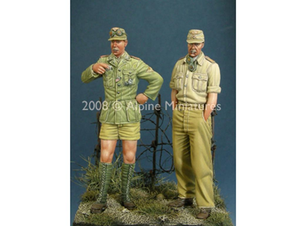 Set Alemán DAK Panzer Crew (Vista 2)