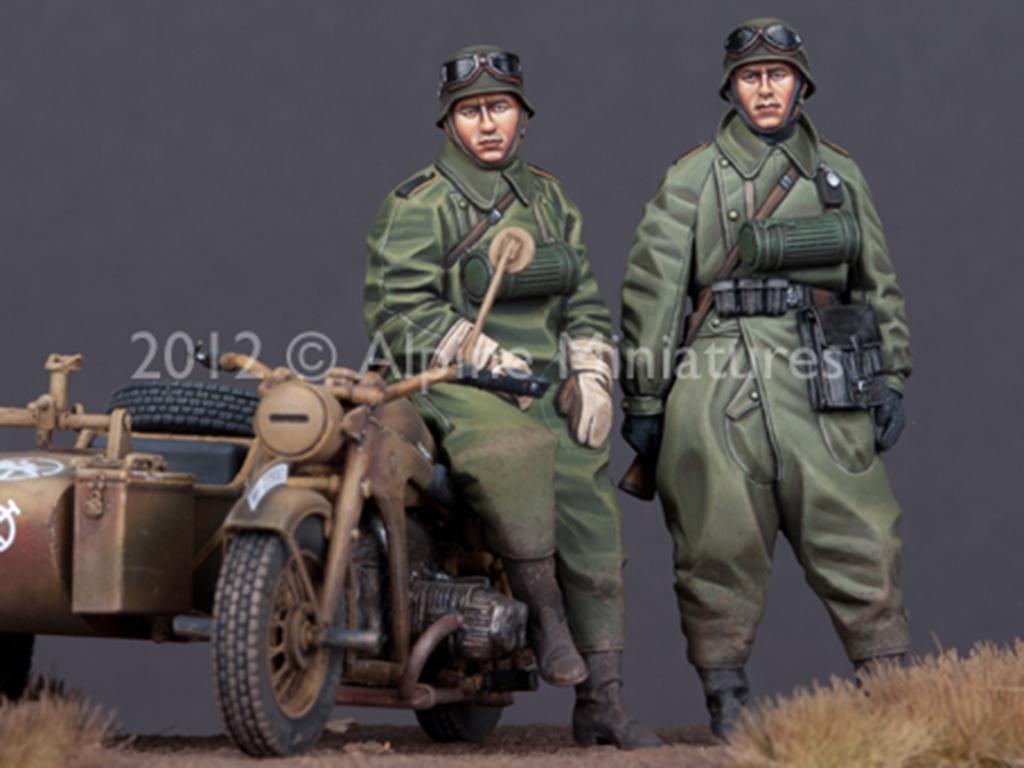 Set de motoristas Alemanes (Vista 1)