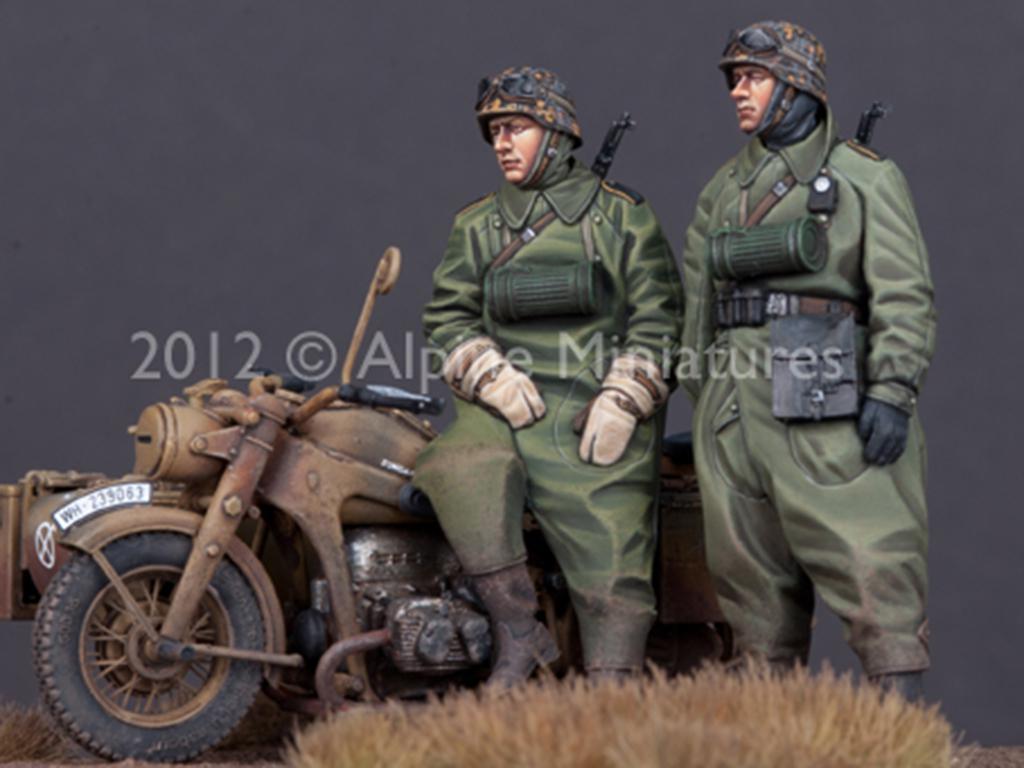 Set de motoristas Alemanes (Vista 2)