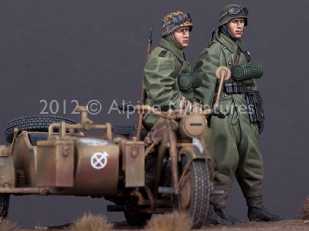 Set de motoristas Alemanes (Vista 3)
