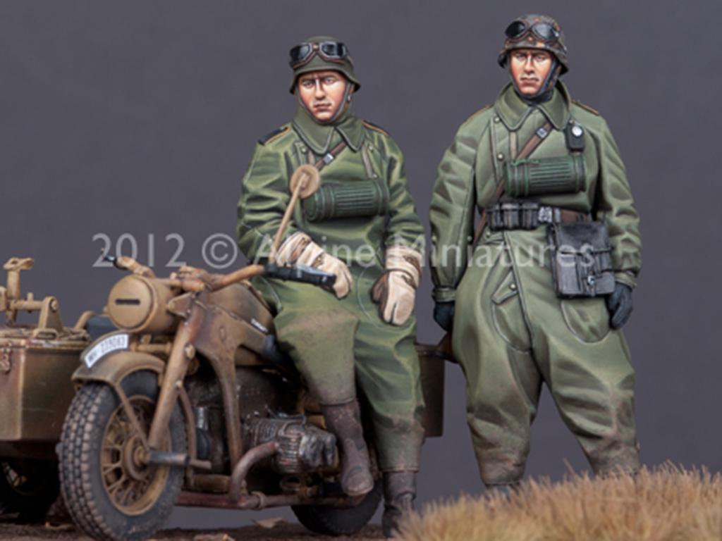 Set de motoristas Alemanes (Vista 4)