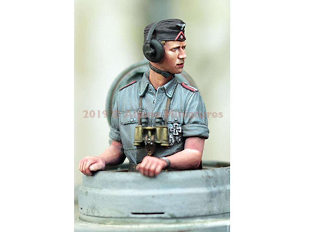 Comandante Panzer Alemán Verano #1 (Vista 3)