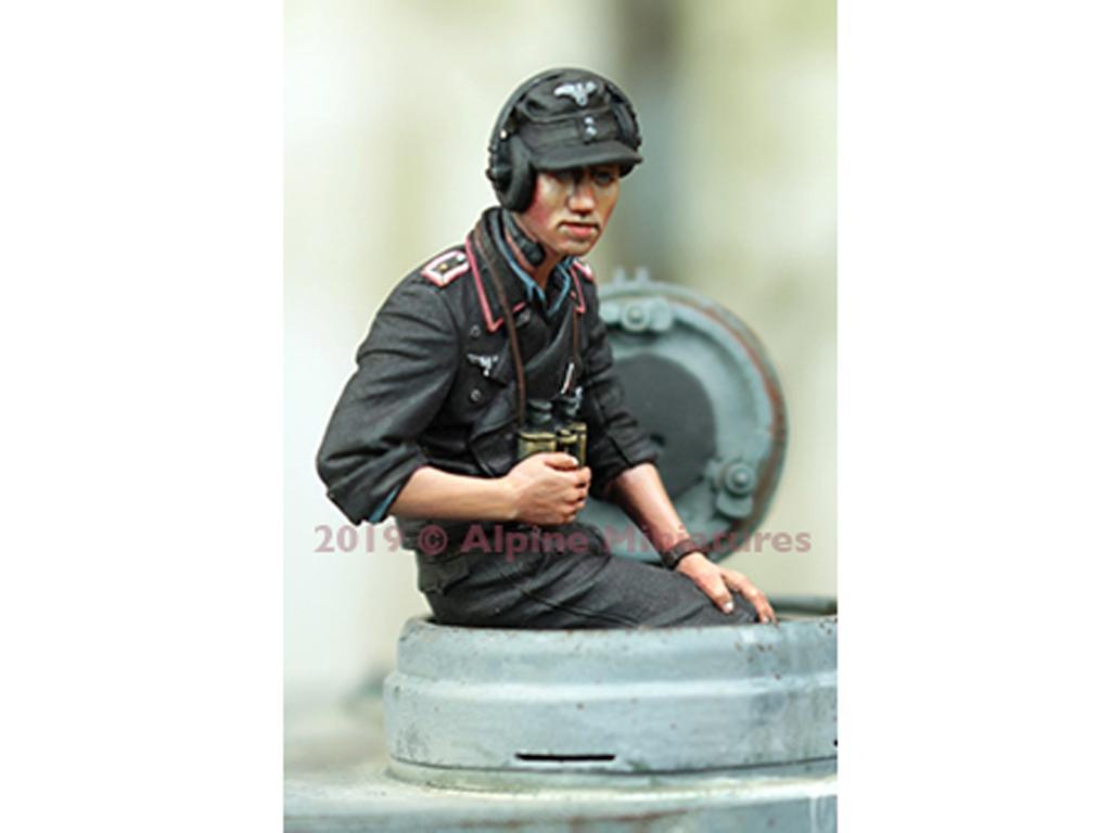 Comandante Panzer Alemán Verano #2 (Vista 1)