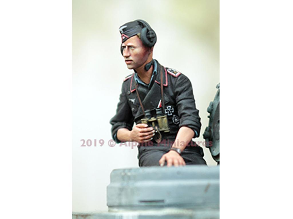 Comandante Panzer Alemán Verano #2 (Vista 4)