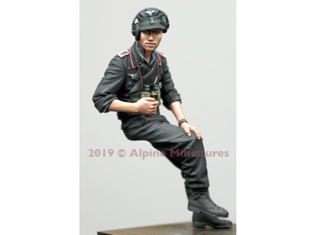 Comandante Panzer Alemán Verano #2 (Vista 5)