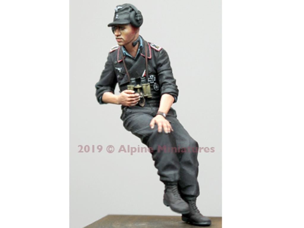 Set Comandante Aleman Panzer verano (Vista 2)