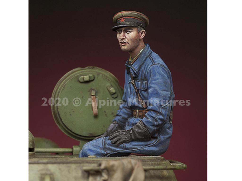Comandante Tanque Ruso 1 (Vista 3)