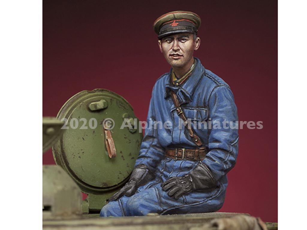 Comandantes Tanque Ruso set (Vista 2)
