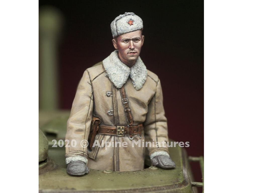 Comandantes Tanque Ruso set (Vista 3)