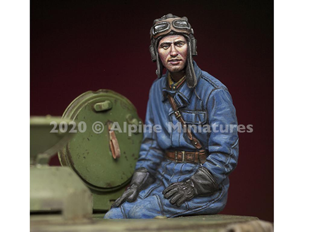Comandantes Tanque Ruso set (Vista 4)