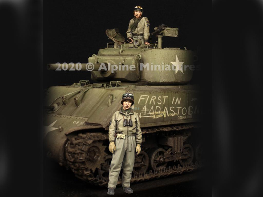 Comandante Tanquista US Set (Vista 1)