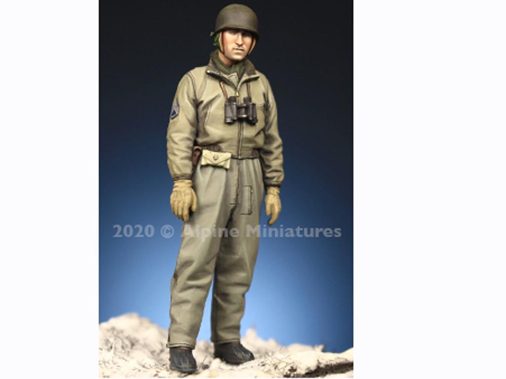 Comandante Tanquista US Set (Vista 3)