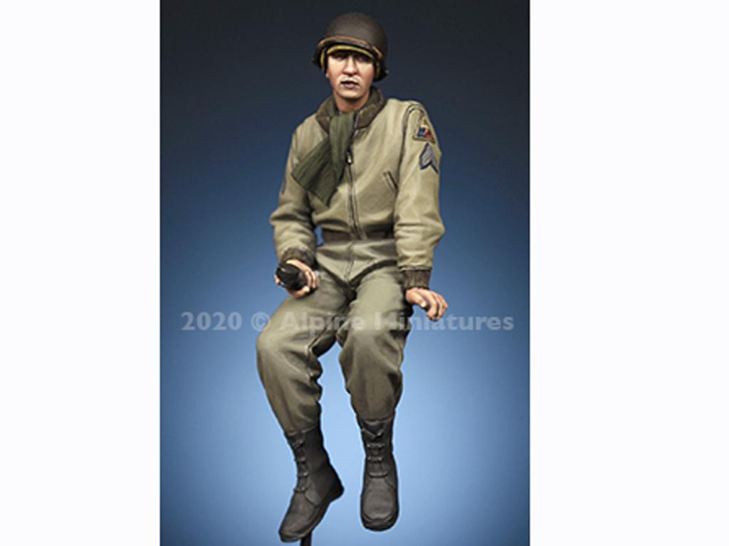 Comandante Tanquista US Set (Vista 5)