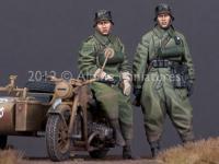 Set de motoristas Alemanes (Vista 5)