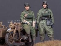 Set de motoristas Alemanes (Vista 8)