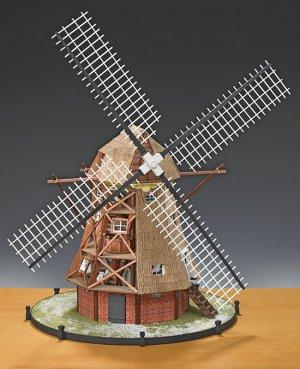 Molino de Viento Holandes  (Vista 4)