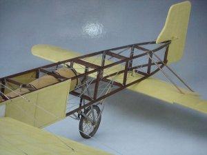 Avión Bleriot XI  (Vista 6)