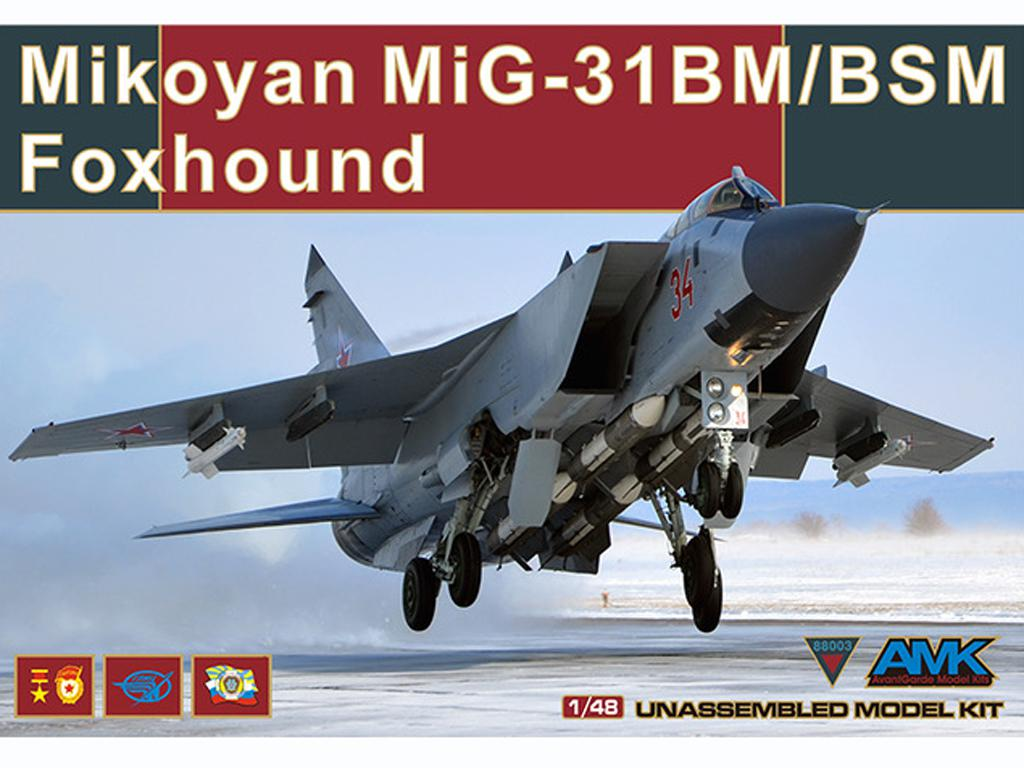 Mikoyan MiG-31BM/BSM Foxhound (Vista 1)