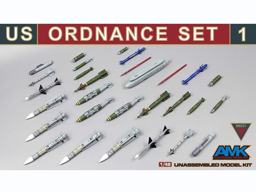 Conjunto de municiones de EE.UU. n. 1 (Vista 1)