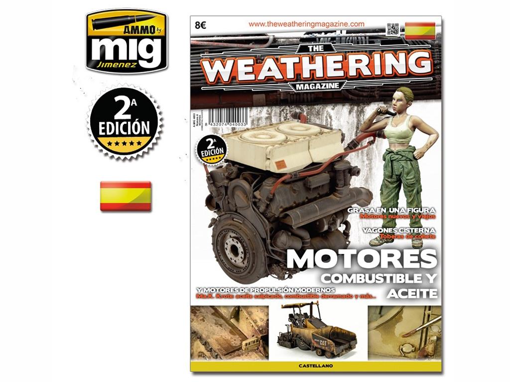 Motores, Gasolina y Aceite - Ref.: AMMO-4003