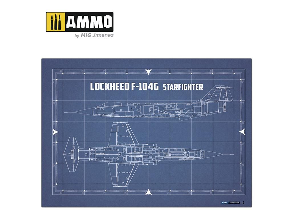 F-104G STARFIGHTER - Visual Modelers Guide (Vista 3)