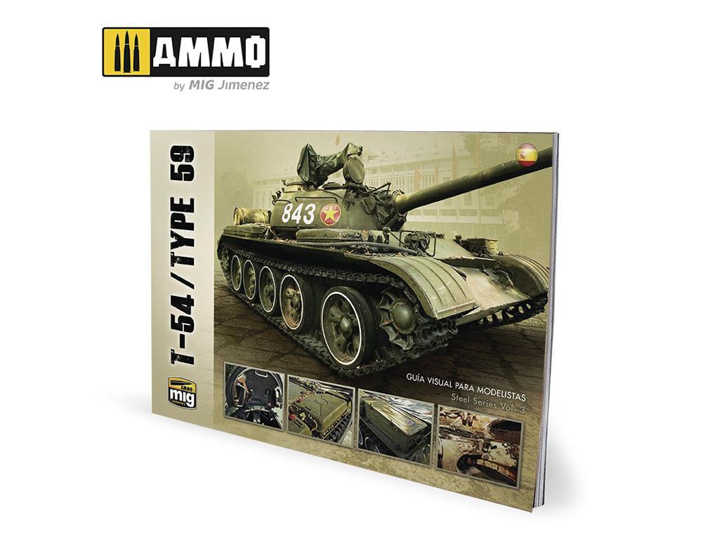 T-54/TYPE 59 – Guia Visual para Modelistas (Vista 1)
