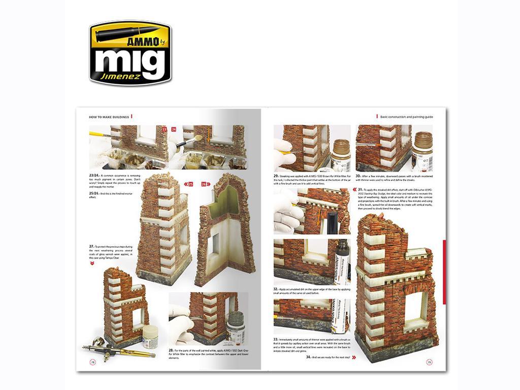 Como Hacer Edificios Guia de Montaje y Pintura (Vista 6)