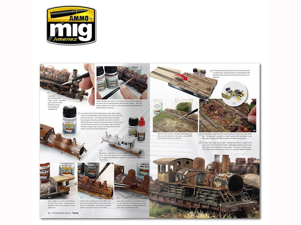 The Weathering Special: Trenes (Vista 3)