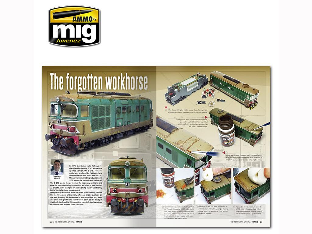 The Weathering Special: Trenes (Vista 4)
