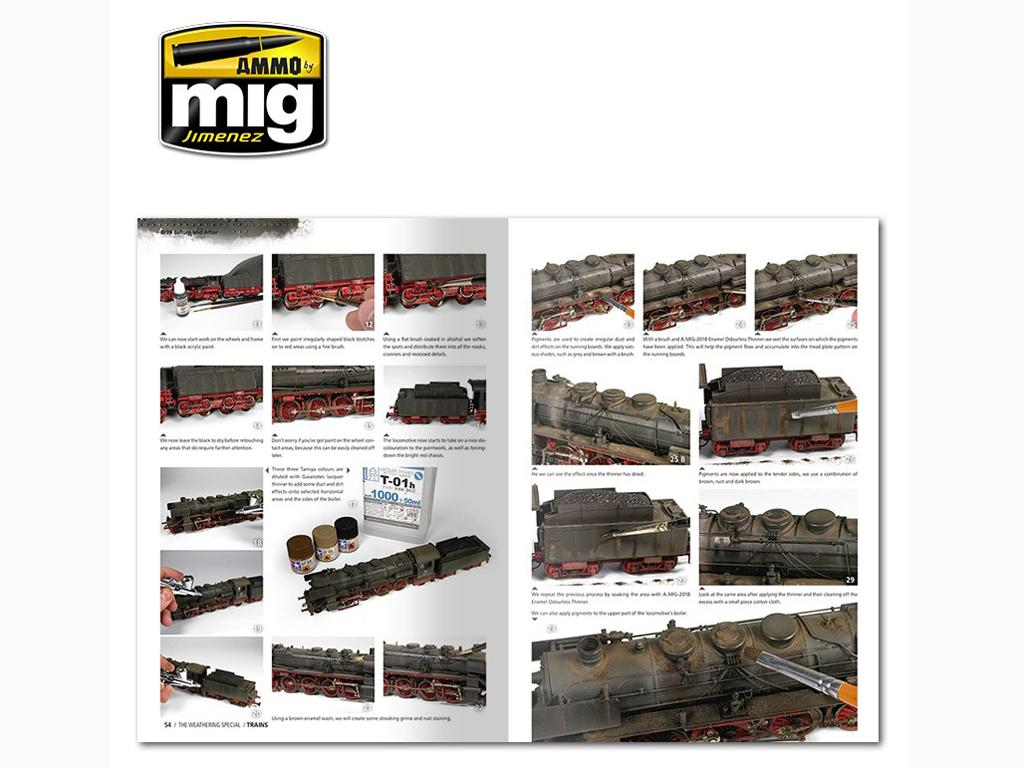 The Weathering Special: Trenes (Vista 5)