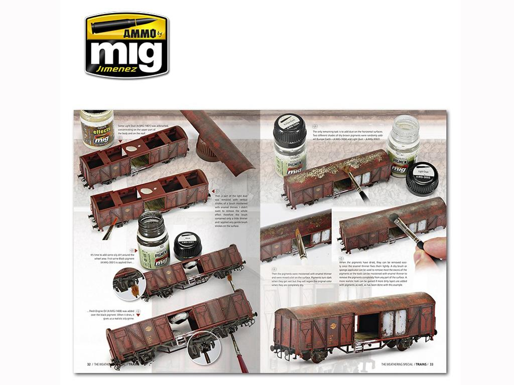The Weathering Special: Trenes (Vista 6)