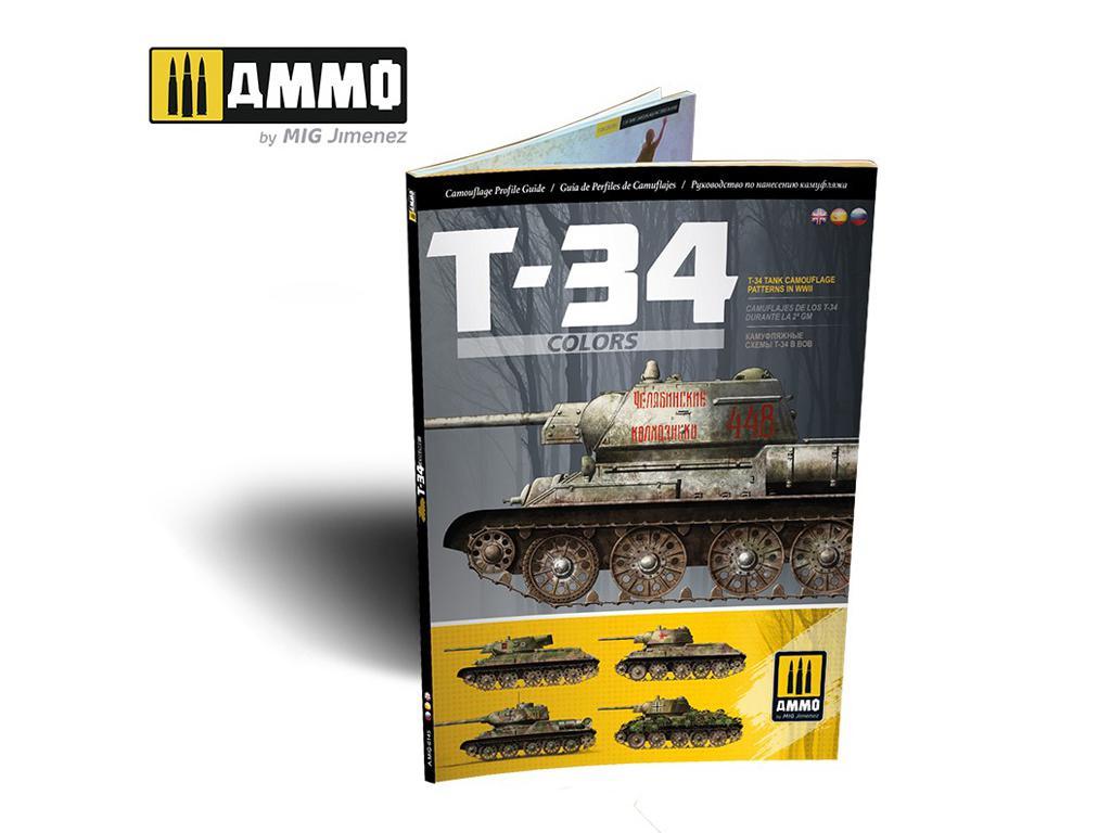T-34 Colors. Camuflajes de los T-34 durante la 2ª GM (Vista 1)