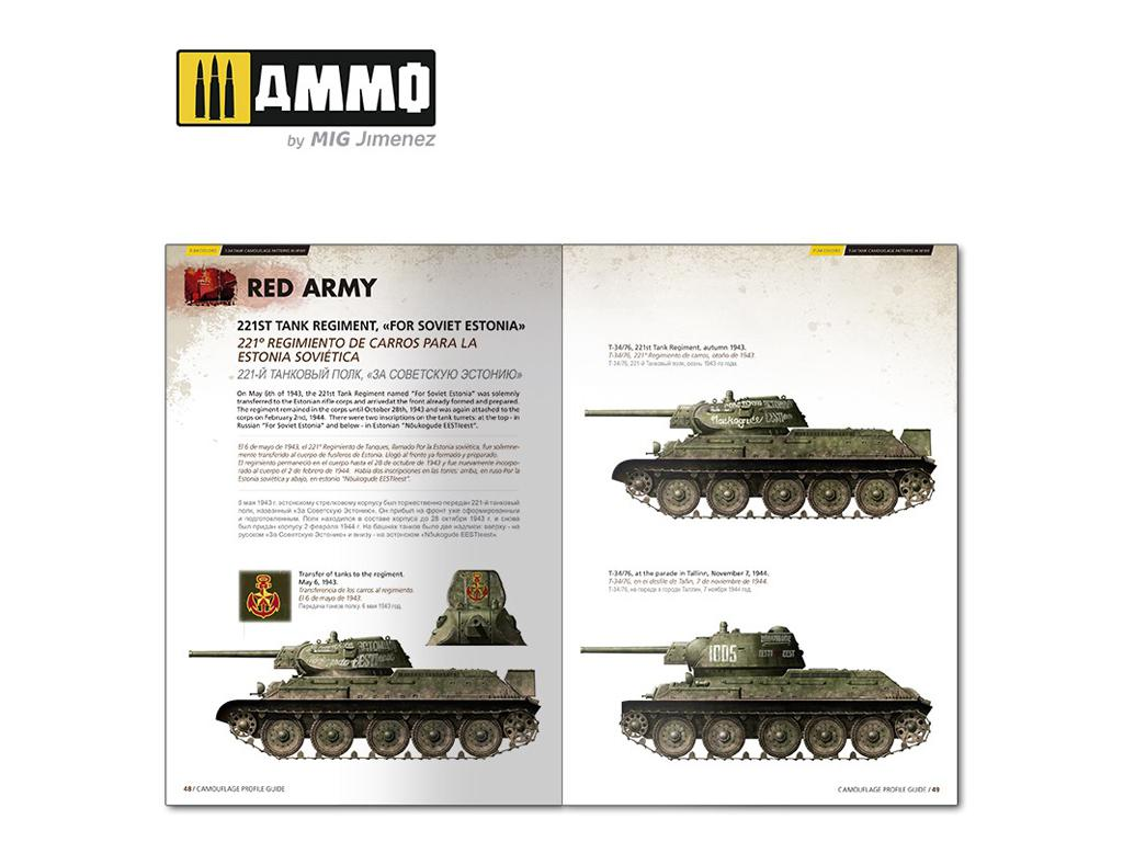T-34 Colors. Camuflajes de los T-34 durante la 2ª GM (Vista 10)
