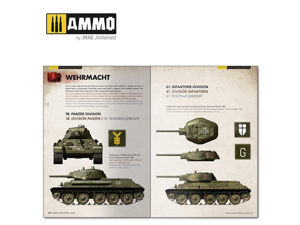 T-34 Colors. Camuflajes de los T-34 durante la 2ª GM (Vista 5)