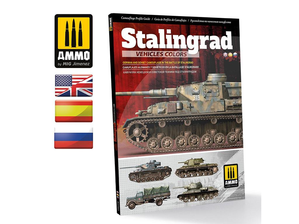 Camuflajes Vehículosa Alemanes y Soviéticos en la batalla de Stalingrado (Vista 1)