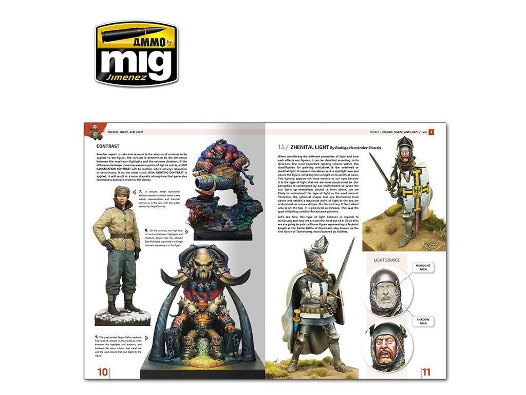 Enciclopedia de Figuras Vol 1 Color , Forma y Luz (Vista 3)