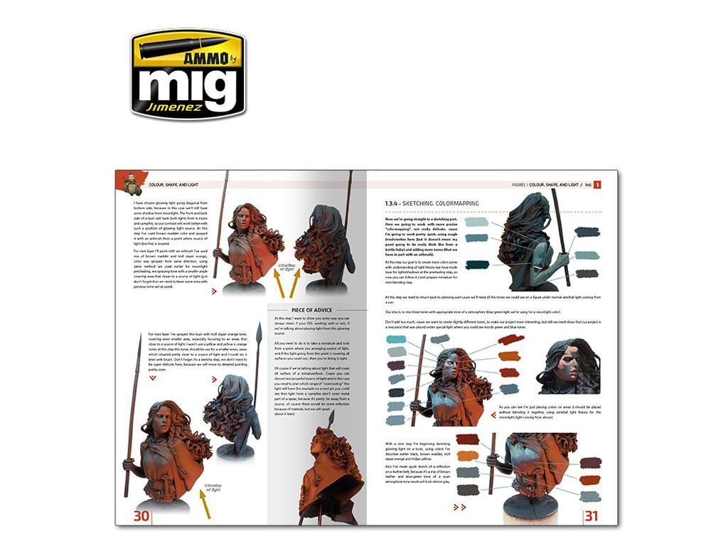 Enciclopedia de Figuras Vol 1 Color , Forma y Luz (Vista 5)