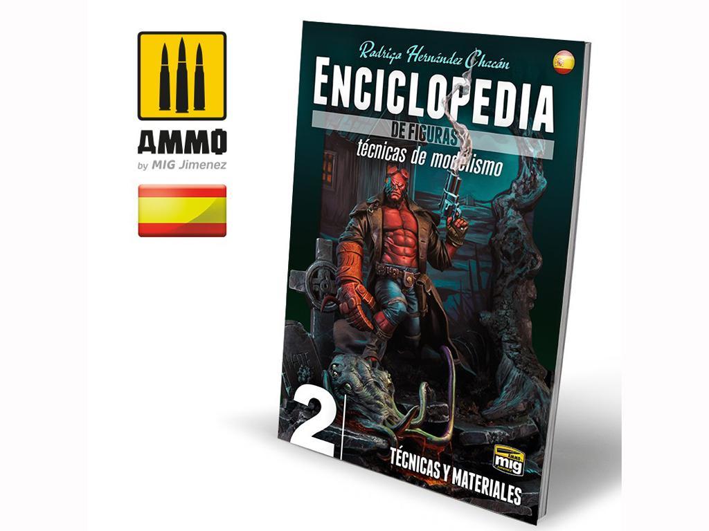 Enciclopedia de Figuras Vol 2 Tecnicas y Materiales  (Vista 1)