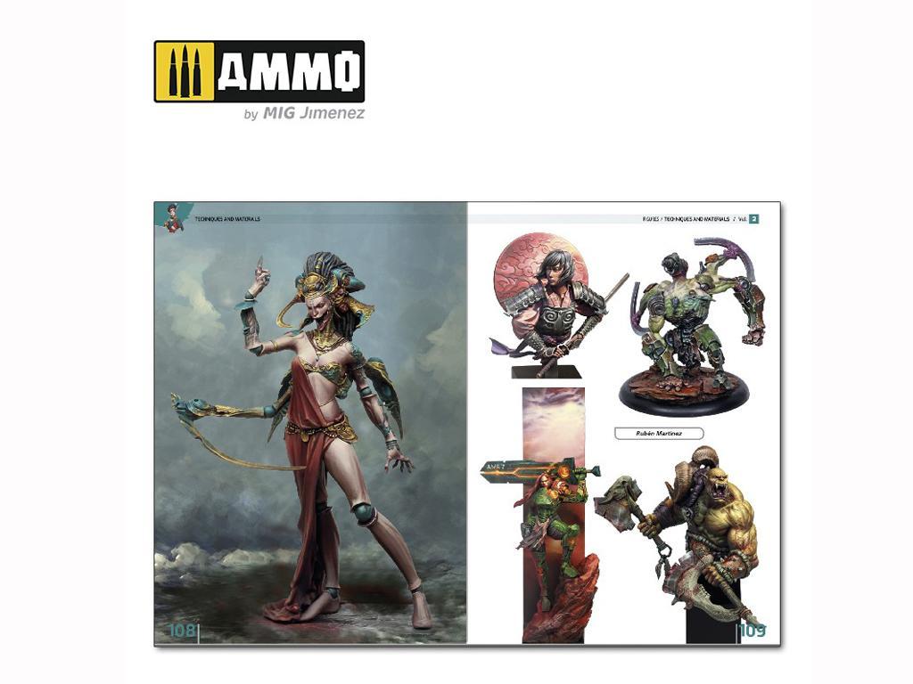 Enciclopedia de Figuras Vol 2 Tecnicas y Materiales  (Vista 2)