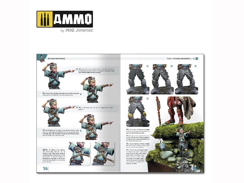 Enciclopedia de Figuras Vol 2 Tecnicas y Materiales  (Vista 4)