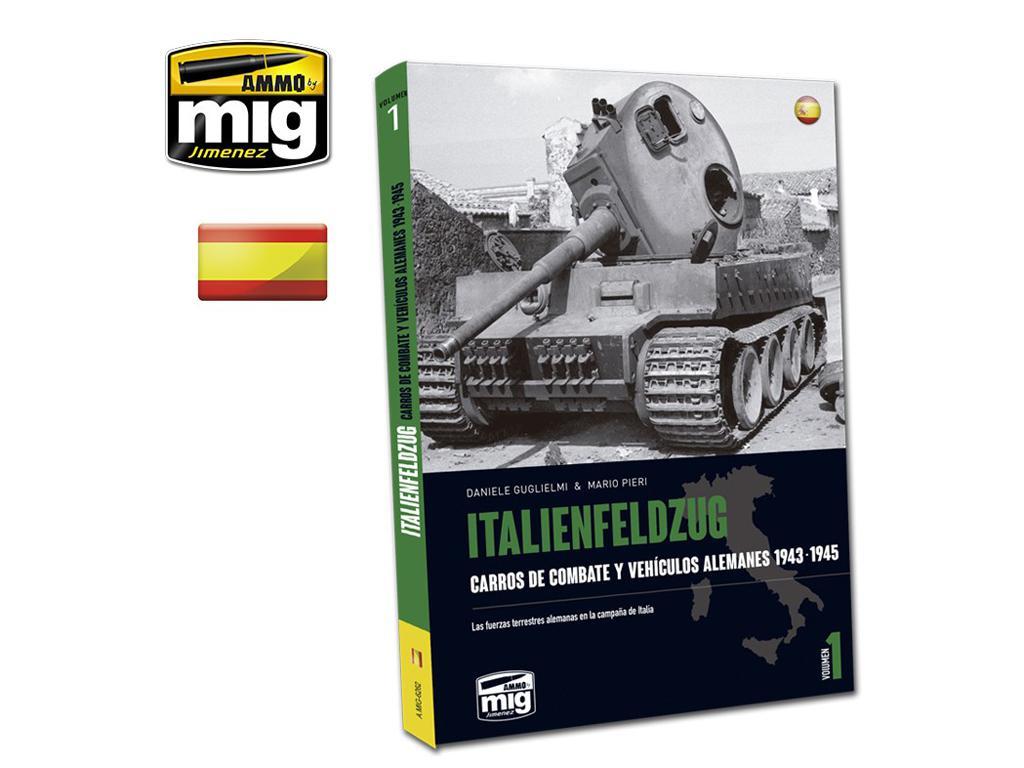 Italienfeldzug Carros de Combate y Vehiculos Alemanes 1943-1945 Vol 1 (Vista 1)