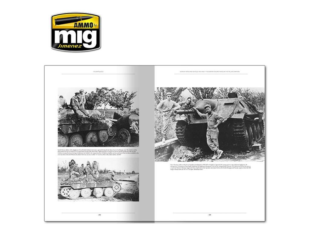 Italienfeldzug Carros de Combate y Vehiculos Alemanes 1943-1945 Vol 1 (Vista 10)